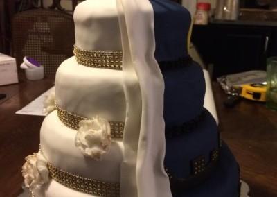Heather & Kayla's Wedding Cake 1