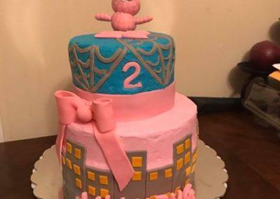 Spidergirl Cake