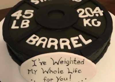 Weighted Cake